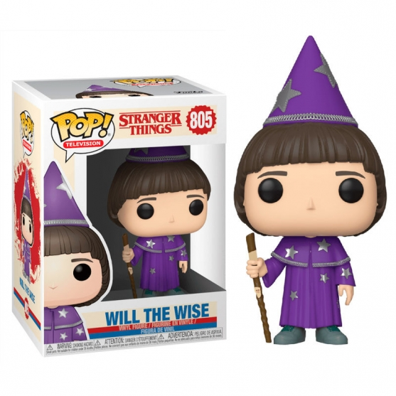 Pop! Television Will the Wise 805 Stranger Things
