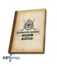 Libreta Harry Potter Hogwarts School