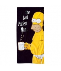 Toalla Los Simpsons Homer The Last Perfect Man 153 x 75 cm