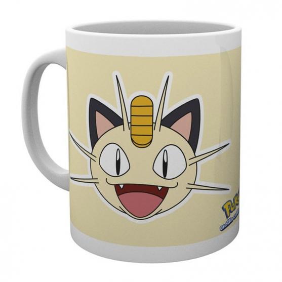 Taza Pokémon Meowth 295 ml