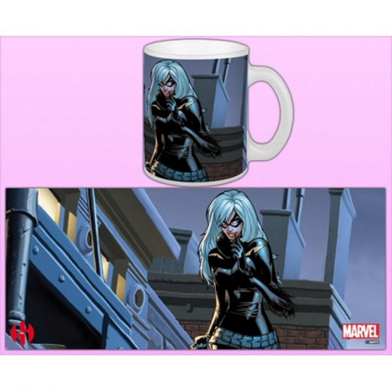 Taza Marvel Spider-Man Black Cat 300 ml