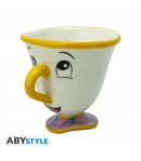 Taza Disney La Bella y la Bestia 3d Chip 250 ml