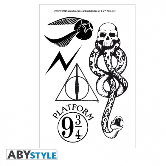 Tatuajes Temporales Harry Potter