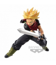 Figura Dragon Ball Super, Super Saiyan Trunks Trascendence 14 cm