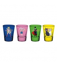 Set 4 Shot Glass Sailor Moon