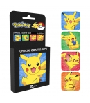 Set 4 Coasters Pokémon Pikachu