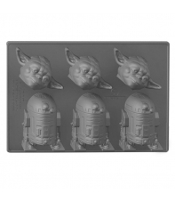 Ice Cube Tray Star Wars Yoda & R2-D2