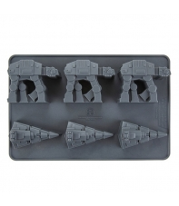 Ice Cube Tray Star Wars At-At & Imperial Star Destroyer