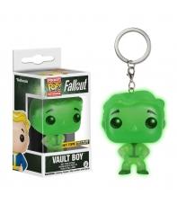 Llavero Pop! Vault Boy Fallout Brilla en la Oscuridad