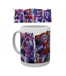 Taza Five Nights at Freddy's Sister Location Personajes 295 ml