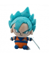 Teddy Dragon Ball Super Son Goku Super Saiyan Blue 20 cm