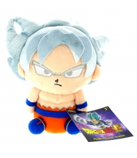 Peluche Dragon Ball Super Goku Ultra Instinct 20 cm