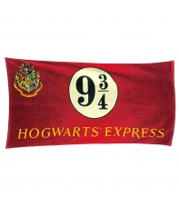 Toalla Harry Potter Hogwarts Express 9 3/4, 150 x 75 cm