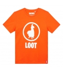 Camiseta Fortnite Loot Naranja Niño