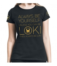T-shirt Marvel Loki Always be Yourself Woman