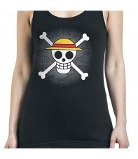 Tank Top One Piece Skull Luffy Woman