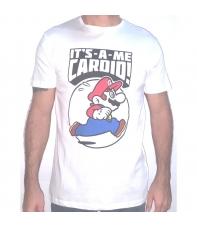 Camiseta Mario It's a me Cardio! Hombre