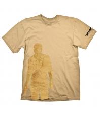 Camiseta Uncharted 4 Mapa Drake Hombre