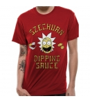Camiseta Rick and Morty Szechuan Dipping Sauce Hombre