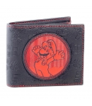 Wallet Super Mario Patch Red
