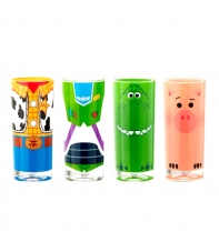 Set 4 Glasses Disney Pixar Toy Story 4