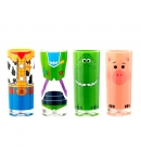 Set 4 Vasos Disney Pixar Toy Story 4