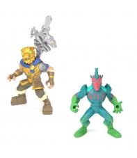 Set Figuras con Accesorios Fortnite, Battle Hound y Flytrap, Royale Col. 5 cm