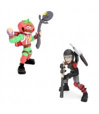 Set Figuras con Accesorios Fortnite, Tomato Head y Shadow Ops, Royale Col. 5 cm