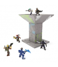 Playset con Figura Fortnite, Port a Fort y Infiltrator