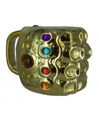 Taza Marvel Avengers Infinty War 3d Guante Infinity V.2, 600 ml