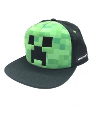 Gorra Minecraft Creeper Foam
