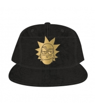 Gorra Rick and Morty Rick Metal Dorado