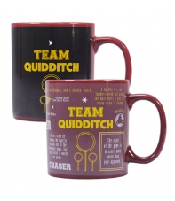 Taza Harry Potter Team Quidditch, Sensitiva al Calor 350 ml