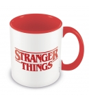Taza Stranger Things Roja 315 ml