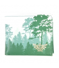 Wallet The Legend of Zelda Green Forrest