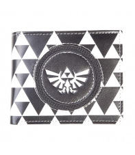 Wallet The Legend of Zelda Black & White Triforce