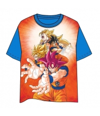 Camiseta Dragon Ball Super Son Goku Niño