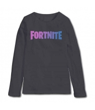 Camiseta Manga Larga Fortnite Logo Niño