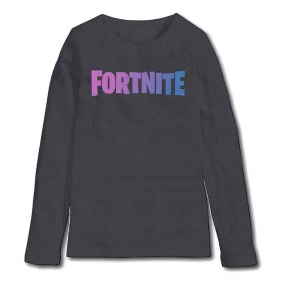 T-shirt long Sleeves Fortnite Logo Kid