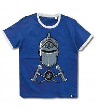 Camiseta Fortnite Black Knight Azul Niño