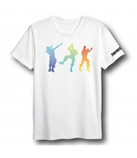 Camiseta Fortnite Dancing Colors Niño