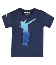 Camiseta Fortnite Dab Dance Azul Niño