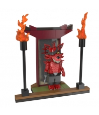 Mini Set Construcción Five Nights at Freddy's Samurai Foxy with Temple of the Fox