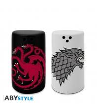 Salero y Pimentero Juego de Tronos Stark y Targaryen