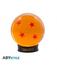 Bola de Dragón 4 estrellas con Peana, Dragon Ball Z, 7,5 cm