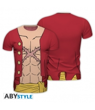 Camiseta One Piece Luffy New World Replica