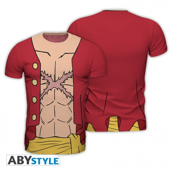 T-shirt One Piece Luffy New World Replica