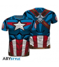 T-shirt Marvel Captain America Replica Man