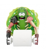 Toilet Roll Holder Rick and Morty, Pickle Rick, 22,5 cm