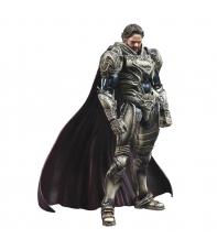 Figura Articulada Dc Superman Hombre de Acero, Jor-El Play Arts Kai, 24 cm